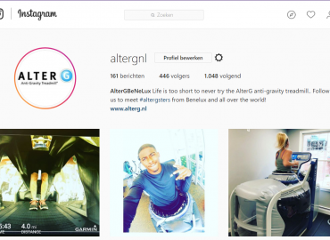 AlterG instagram
