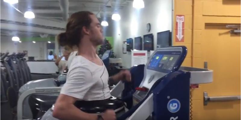 David Fransisco anti-gravity treadmill